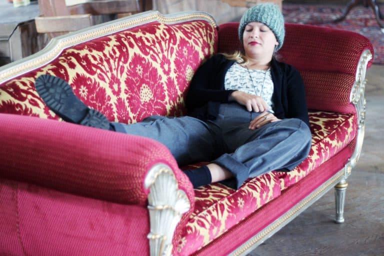 Zita Martus aus Sofa
