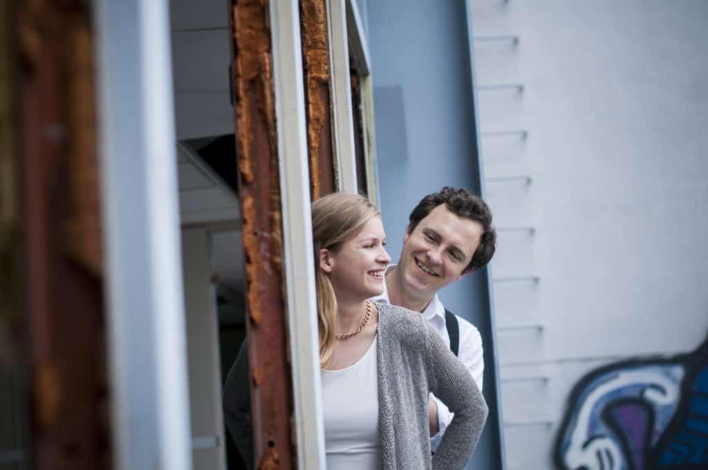 Zita Martus und Robert Denk