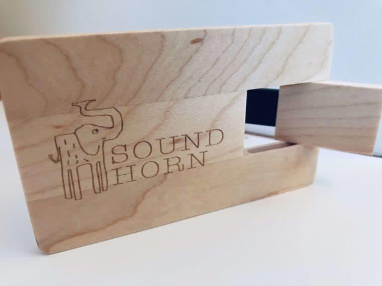 Holz USB Stick mit deinen Liedern