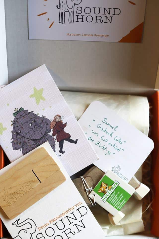 Personalisierte Geschenkbox